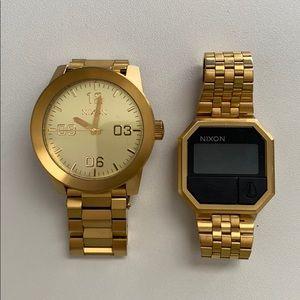 Nixon men's watches